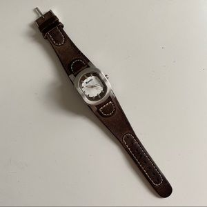Leather Roots Watch